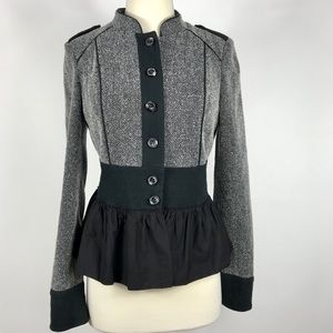 Anthro Daughter of the Liberation Peplum Jacket
